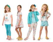 Haine copii Mayoral colectia vara 2020  2 - 9 ani fete turcoaz smarald coral