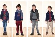 Colectia de haine pentru baieti, de la 2 la 9 ani rosu-bleumarin-gri-carmin