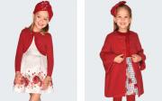 Haine copii Mayoral colectia toamna-iarna la 2 la 9 ani, articole culoarea rosie