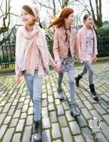 Haine fete Mayoral 10-12-14 ani colectia roz-marsala-bej