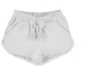Pantaloni scurti albi 607-12