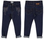 Pantaloni bleumarin fete 4543-73