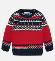 Pulover tricotat model iarna copii 2323-69