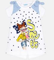 Tricou fete Sweet Mayoral 3005-92