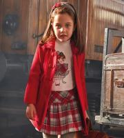 Palton-rosu copii Mayoral 4418-88