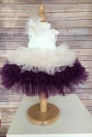Colibri set rochie, bentita,bolerou Cinderella Liliac (1002LI)