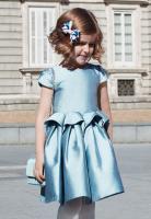Rochie bleu eleganta fete 5517-28