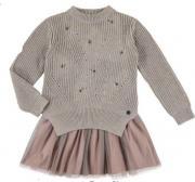 Rochie compusa din fusta si pulover 7947-78