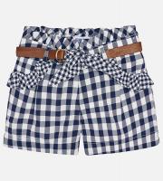 Pantaloni scurti bleumarin fetite 3212-75