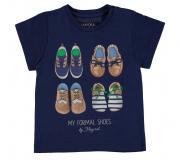Tricou bleumarin copii 1013-36