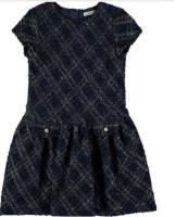 Rochie eleganta fete bleumarin 7925-20