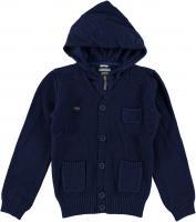 Jacheta tricotata bleumarin 0N301