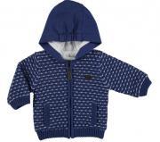 Hanorac tricotat bleumarin bebelusi 2318-18