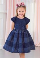 Rochie eleganta seara bleumarin fete 5520