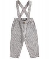 Pantaloni in cu bretele detasabila bebe 4j107