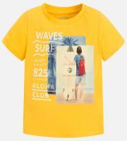 Tricou galben baieti 3073-49